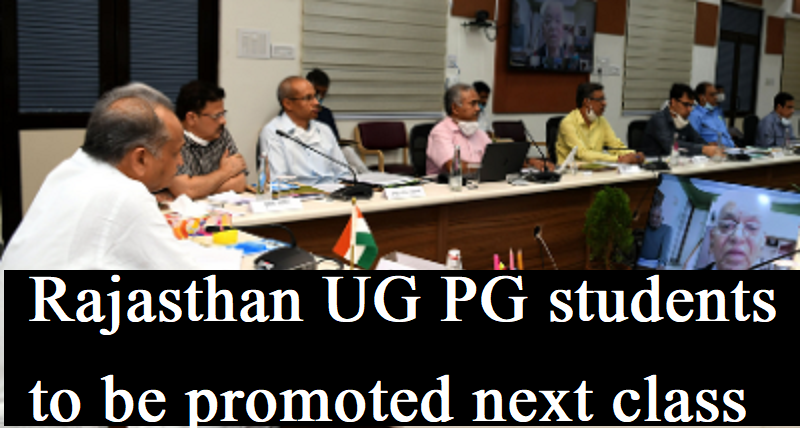 Rajasthan UG PG students to be promoted next class